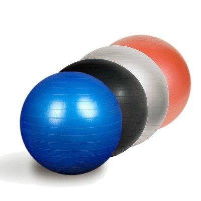 Tai naujos kartos profesionalus fitneso kamuolys. Pagamintas iš patvarios PVC medžiagos su neslystančiu paviršiumi. Rekomenduojamas maksimalus svoris - 200Kg. Šią kamuolių seriją sudaro 5 dydžiai: 45 cm, 55 cm, 65 cm, 75 cm ir 85 cm. Gimnastikos kamuolys skirtas universliam naudojimui: fitneso, kardio, reabilitacijos pratimams. Tinkamas tiek komerciniam tiek asmeniniam naudojimui. Aukštos kokybės nesprogstantis kamuolys idealiai tinka kineziterapeutams, treneriams, sporto klubams, viešbučiams ir namų vartotojams. Techninis aprašymas: Universalus gimnastinis kamuolys Atspari įtrūkimams PVC medžiaga Neslystantis paviršius Maksimalus rekomenduotinas svoris net 200 kg Diametras: 75 cm Skirtas fitneso, kardio bei reabilitacijos pratimams Į komplektaciją pompa neįtraukta Pasirinkite tinkamo diametro kamuolį pagal ūgį: