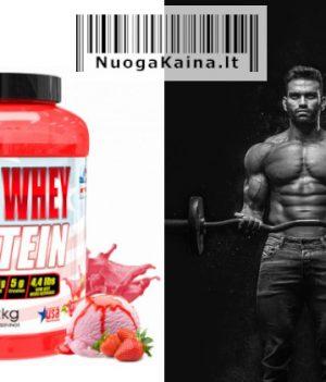 Proteinas American Supplement 100% išrūgų baltymas 2kg